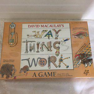 David Macaulay's The Way Things Work Board Game